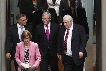 Kevin Rudd 44th Parliament Opens in Canberra