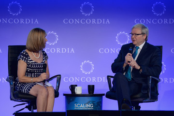 Kevin Rudd Concordia Summit: Day 1