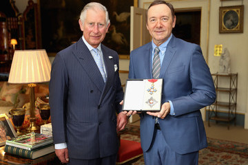 Kevin Spacey Kevin Spacey Receives Honorary Knighthood