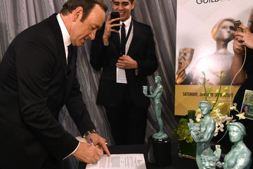 Kevin Spacey The 22nd Annual Screen Actors Guild Awards - Trophy Room