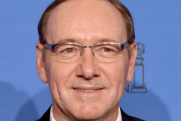 Kevin Spacey Golden Globes Press Room