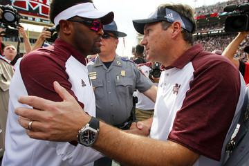 Kevin Sumlin Texas A&M v Mississippi State