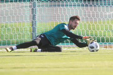Kevin Trapp Germany Training And Press Conference