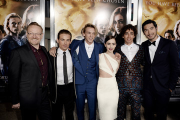 Kevin Zegers Godfrey Gao 'The Mortal Instruments: City of Bones' Premieres in Hollywood — Part 2