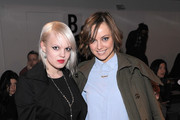 Becka Diamond and stylist Kelly Framel attend the Kevork Kiledjian Fall 2012 fashion show during Mercedes-Benz Fashion Week at Milk Studios on February 12, 2012 in New York City.