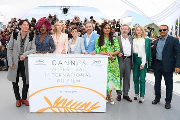Khadja Nin and Chang Chen Jury Photocall - The 71st Annual Cannes Film Festival