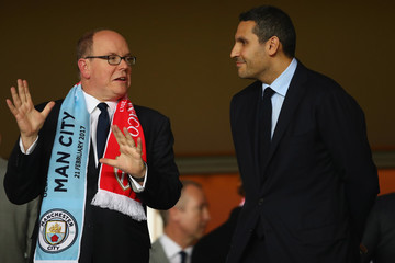 Khaldoon Al Mubarak AS Monaco v Manchester City FC - UEFA Champions League Round of 16: Second Leg
