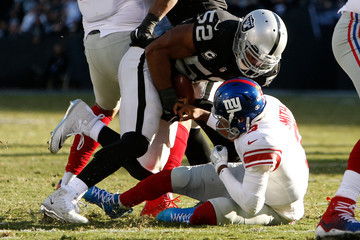 Khalil Mack New York Giants v Oakland Raiders