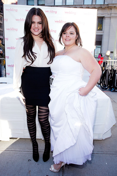 Stacy Steele and Khloe Kardashian Wedding Central If The Shoe Fits Stunt