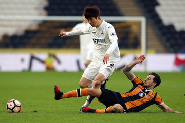 Ki Sung-Yueng Hull City v Swansea City - The Emirates FA Cup Third Round