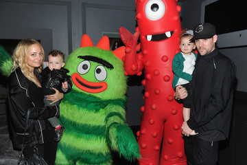 Nicole Richie Sparrow Madden Kia Presents Yo Gabba Gabba! Live! There's A Party In My City! At NOKIA L.A. LIVE  - Backstage - Day 2
