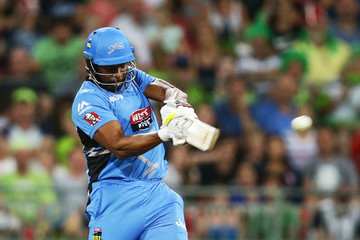 Kieron Pollard Big Bash League - Thunder v Strikers