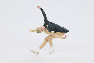 Kiira Korpi 2015 Shanghai World Figure Skating Championships - Day 2