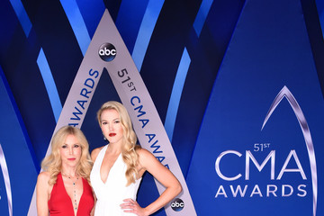 Kim Campbell Ashley Campbell The 51st Annual CMA Awards - Arrivals