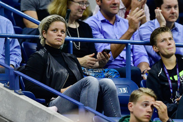 Kim Clijsters 2017 US Open Tennis Championships - Day 2