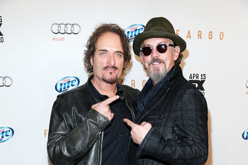 Photo of Tommy Flanagan & his friend   Kim Coates