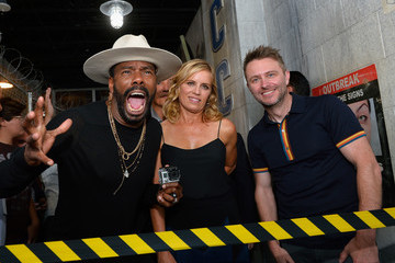Kim Dickens Colman Domingo 'Fear the Walking Dead' Survival at the Fremont Street Experience