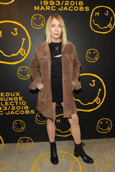 Marc Jacobs, Sofia Coppola, And Katie Grand Celebrate The Marc Jacobs Redux Grunge Collection And The Opening Of Marc Jacobs Madison [the marc jacobs redux grunge collection,yellow,outerwear,flooring,style,marc jacobs,sofia coppola,katie grand celebrate the marc jacobs redux grunge collection and the opening of marc jacobs madison,katie grand,kim gordon,marc jacobs madison,new york city,opening]