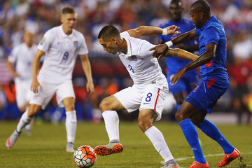 Kim Jaggy United States v Haiti: Group A - 2015 CONCACAF Gold Cup