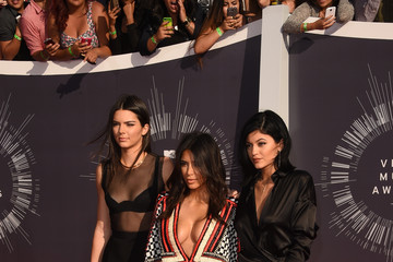 Kim Kardashian Arrivals at the MTV Video Music Awards — Part 2
