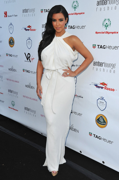 Kim Kardashian Kim Kardashian arrives to attend the AmberLounge Fashion Monaco 2011 on May 27, 2011 in Monaco.