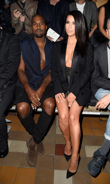 Kim Kardashian - Front Row at Lanvin