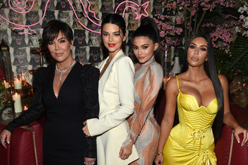 Kim Kardashian Kylie Jenner The Business Of Fashion Celebrates Special Print Edition On 'The Age Of Influence' In New York