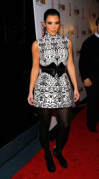 """Kim Kardashian Kim Kardashian attends """"The Spin Crowd"""" Season Finale Party at Provacateur on October 6, 2010 in New York City."""