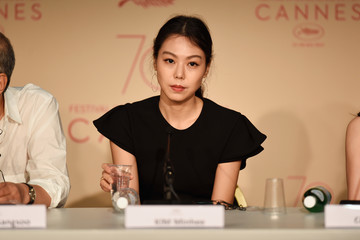 Kim Min-Hee 'The Day After (Geu Hu)' Press Conference - The 70th Annual Cannes Film Festival