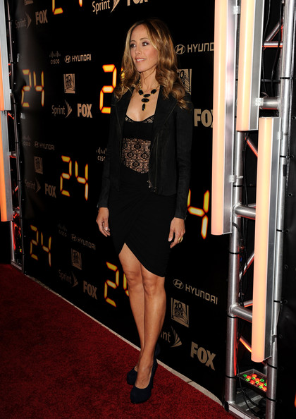 "Kim Raver - Fox's ""24"" Series Finale Party - Arrivals"