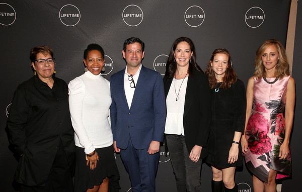 Lifetime's Female Directors And Leading Actresses At The 2019 Winter Television Critics Association Press Tour