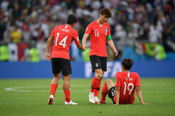 Kim Young Gwon Korea Republic vs. Mexico: Group F - 2018 FIFA World Cup Russia