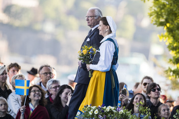 King Carl Gustaf XVI  National Day in Sweden 2017
