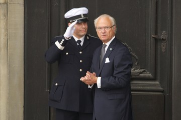 King Carl Gustaf XVI  King Carl Gustaf's 40th Jubilee - City Of Stockholm Celebrations