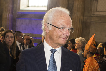 King Carl Gustaf XVI  Swedish Royals Attend The Global Child Forum 2018