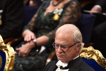 King Carl Gustaf XVI  Nobel Prize Awards Ceremony
