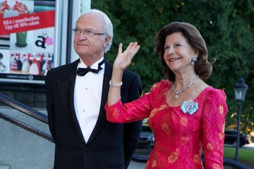 King Carl Gustaf XVI  Swedish Government Dinner To Celebrate King Carl Gustaf's 40th Jubilee