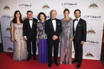 King Carl Gustaf XVI  Swedish Royals Attend World Childhood Foundation's 20th Anniversary
