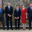 Miguel Cardenal and King Felipe VI of Spain Photos