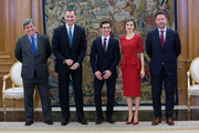 Miguel Cardenal and King Felipe VI of Spain Photos Photo