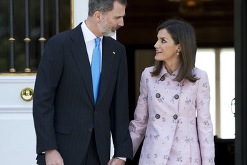 King Felipe VI of Spain Spanish Royals Host A Lunch For President Of Mexico And His Wife