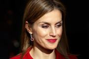 Queen Letizia of Spain smiles during her visit to the Netherlands with King Felipe VI of Spain on October 15, 2014 in The Hague, Netherlands. Spain's royal couple are in the Netherlands for a one-day official visit.