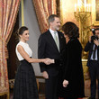 King Felipe of Spain Spanish Royals Receive COP25 Participants At The Royal Palace
