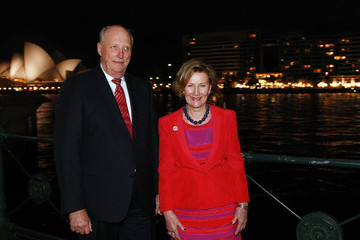 King Harald V King Harald V And Queen Sonja Of Norway Visit Australia - Day 4