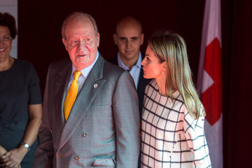 King Juan Carlos I Queen Letizia of Spain Spanish Royals Attend Red Cross Fundraising Day