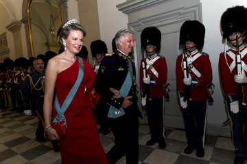 King Philippe of Belgium Crown Prince Frederik Of Denmark Holds Gala Banquet At Christiansborg Palace