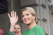 Queen Maxima of The Netherlands arrives for the Freedom concert on May 5, 2014 in Amsterdam, Netherlands.