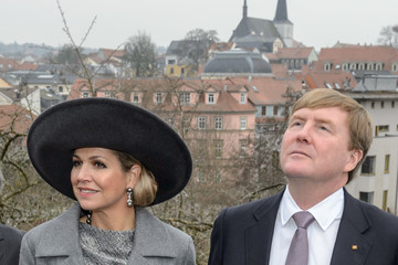 King Willem-Alexander King Willem-Alexander And Queen Maxima Of The Netherlands Visit Thuringia - Day 2