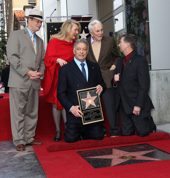 Zubin Mehta Honored On The Hollywood Walk Of Fame