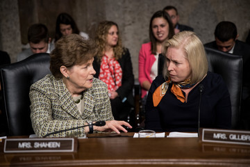 Kirsten Gillibrand Senate Armed Services Committee Holds Hearing on Defense From Cyberattacks